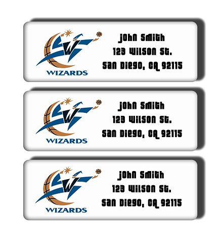 Golden State Warriors Throwback Labels