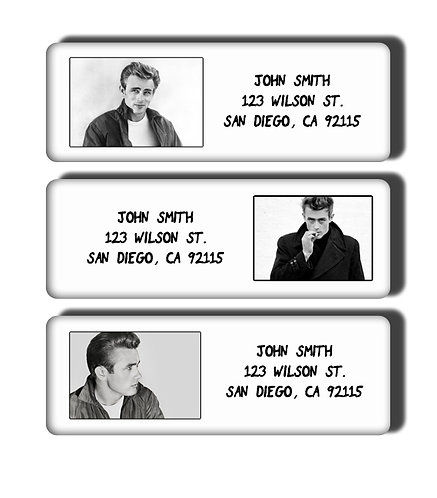James Dean Labels