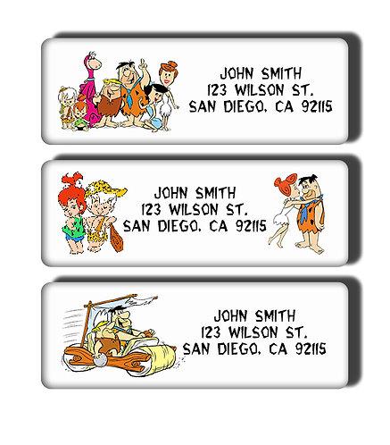 Flintstones Labels