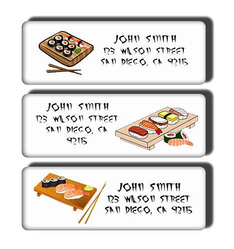 Sushi Labels
