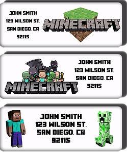 Minecraft return address labels