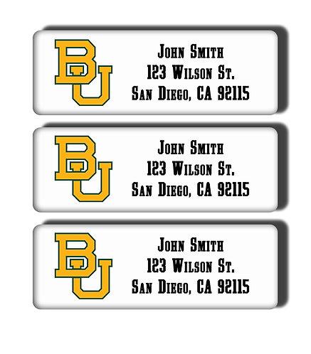 Baylor University Labels