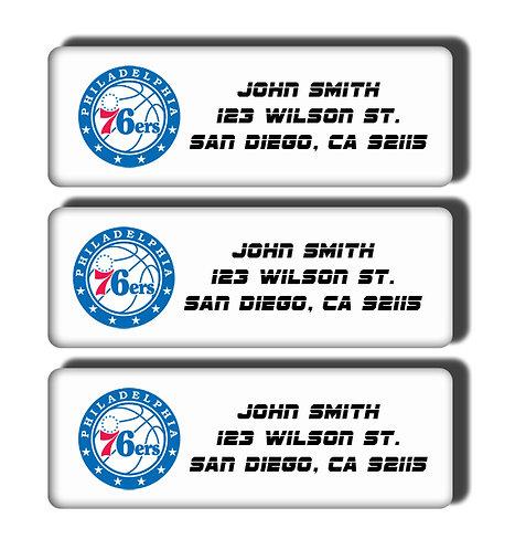 Philadelphia 76ers Labels