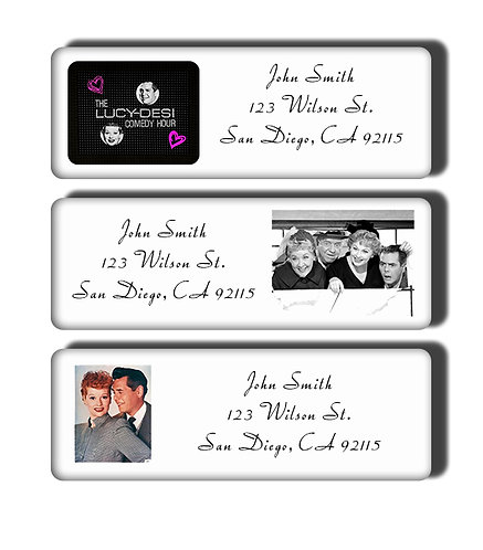 Lucy-Desi Comedy Hour Labels