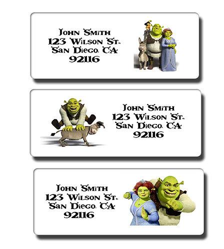 Shrek Labels