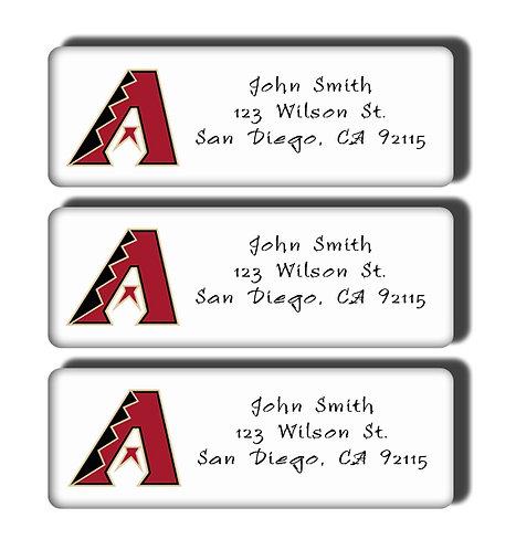 Arizona Diamondbacks Labels