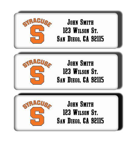 Syracuse University Labels