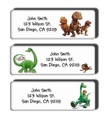 The Good Dinosaur Labels