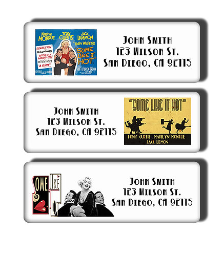 Some Like It Hot Labels