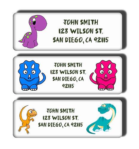 Cute Dinosaur Labels
