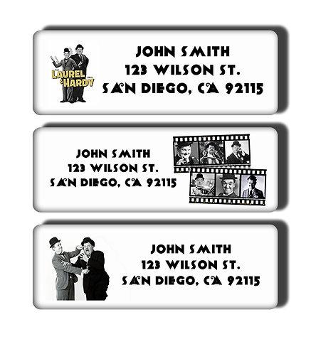 Laurel & Hardy Labels