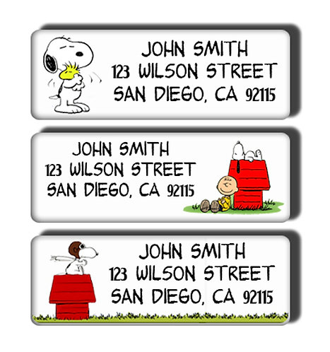 Snoopy Labels