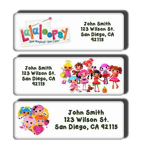 Lalaloopsy Labels