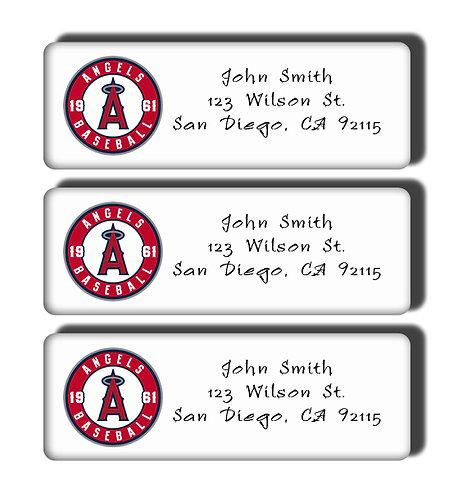 Los Angeles Angels Labels