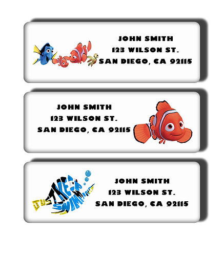 Finding Dory Labels