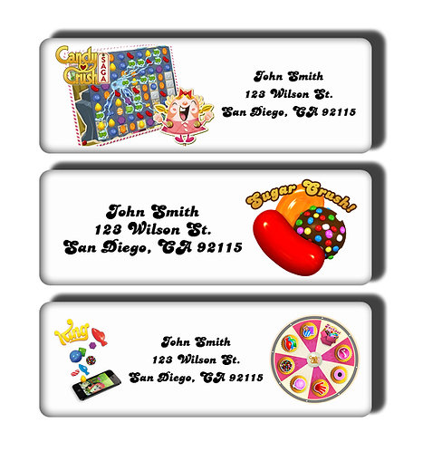 Candy Crush Labels