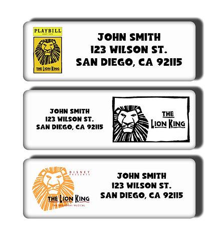 Lion King Labels