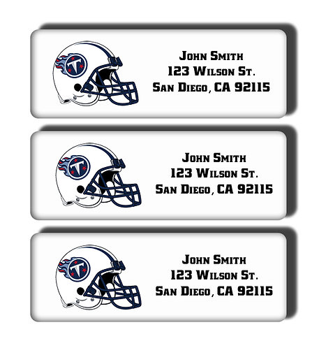 Tennessee Titans Labels