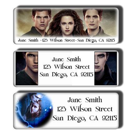 "Twilight ""Team Edward"" & ""Team Jacob"" Labels"