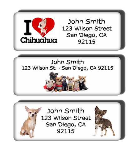 Chihuahua Labels