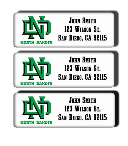 University of North Dakota Labels
