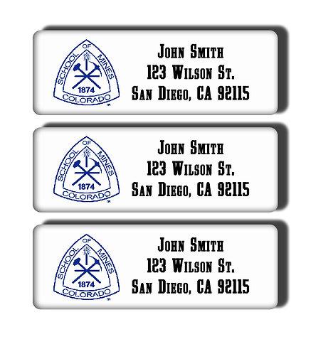 Colorado School of Mines Labels