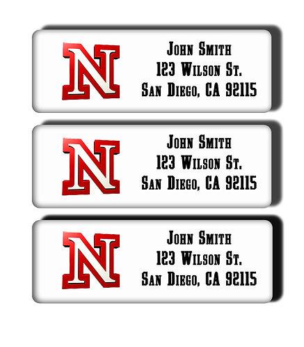 University of Nebraska Lincoln Labels