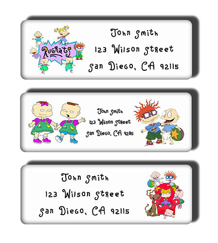 Rugrats Labels