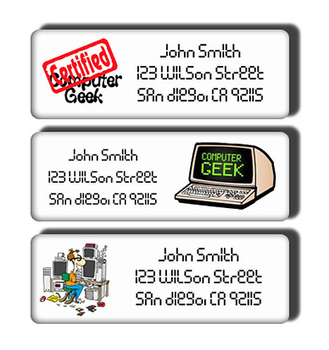 Computer Technician Labels