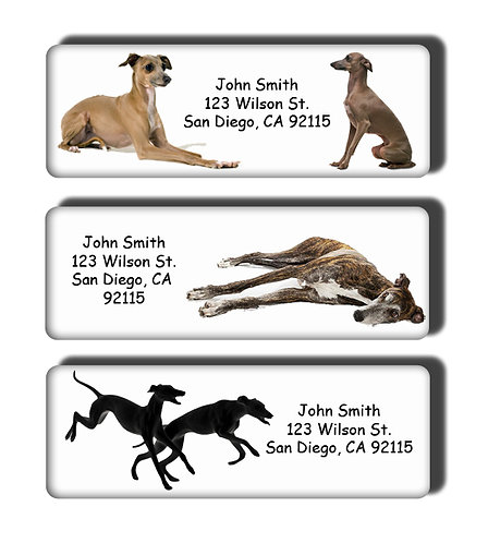 Greyhound Labels