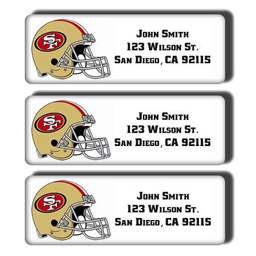 San Francisco 49ers Labels