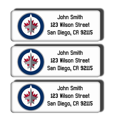 Winnipeg Jets Labels