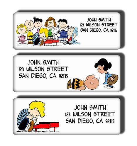 Peanuts Labels