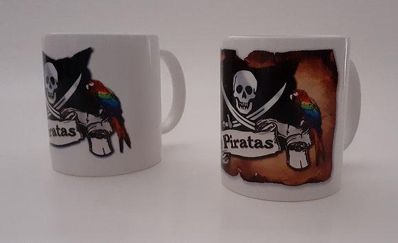Caneca Piratas