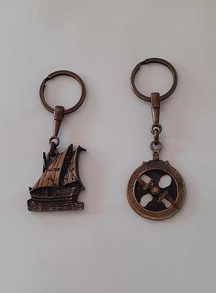 Porta-chaves Astrolábio / Caravela