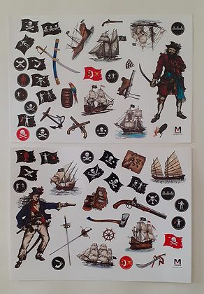 Autocolantes Piratas