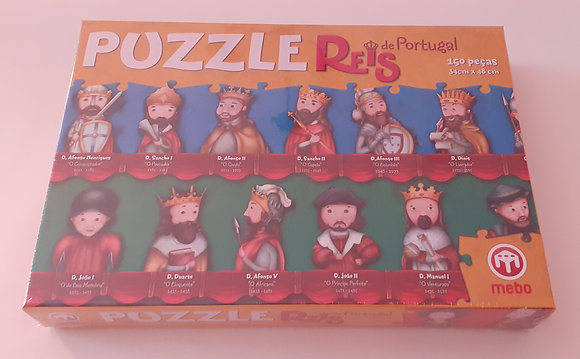 Puzzle 150 pçs Reis de Portugal