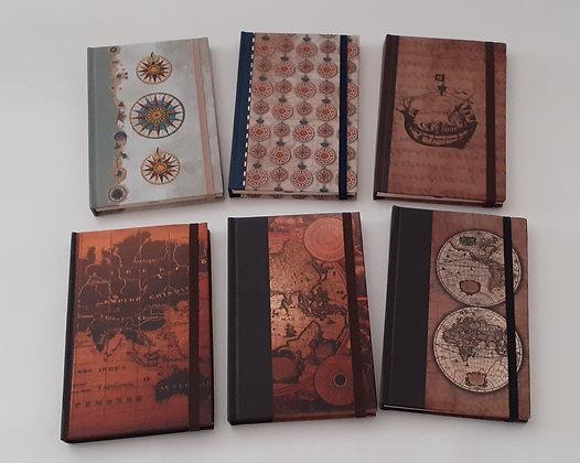 Caderno com elástico A6