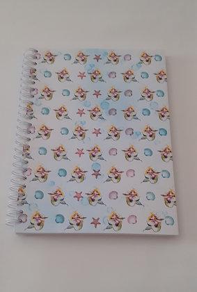 Caderno de argolas A5 Sereias