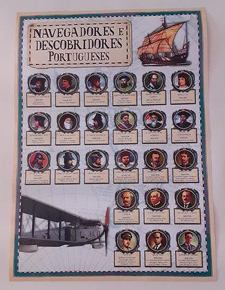 Poster Navegadores e Descobridores Portugueses