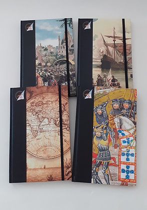 Caderno com elástico Museu de Cera dos Descobrimentos