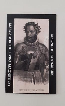 Marcador de livro magnético Luís Vaz de Camões