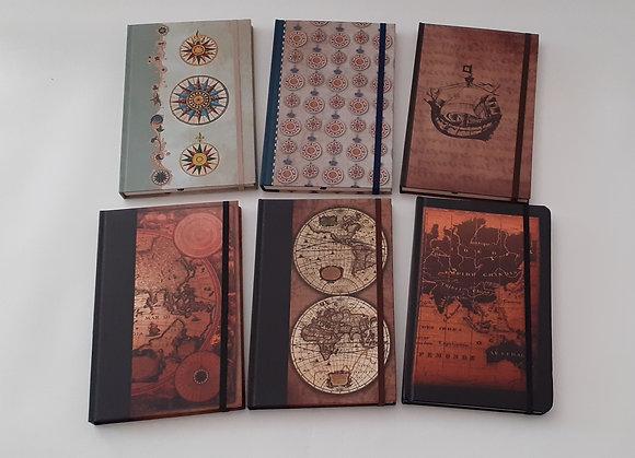 Caderno com elástico A5