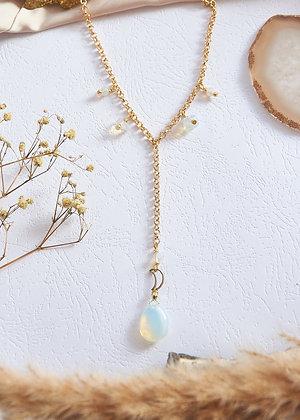 Opalite Dainty Necklace