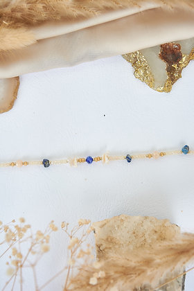 Pearl & Beaded Anklet