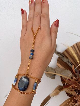 Lapis Lazuli Hand-Chain