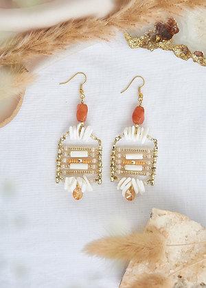 Carnelian Exotic Earrings