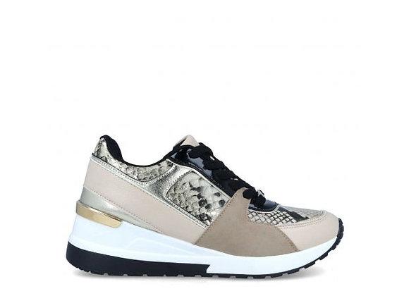 Sneakers Print Dorado