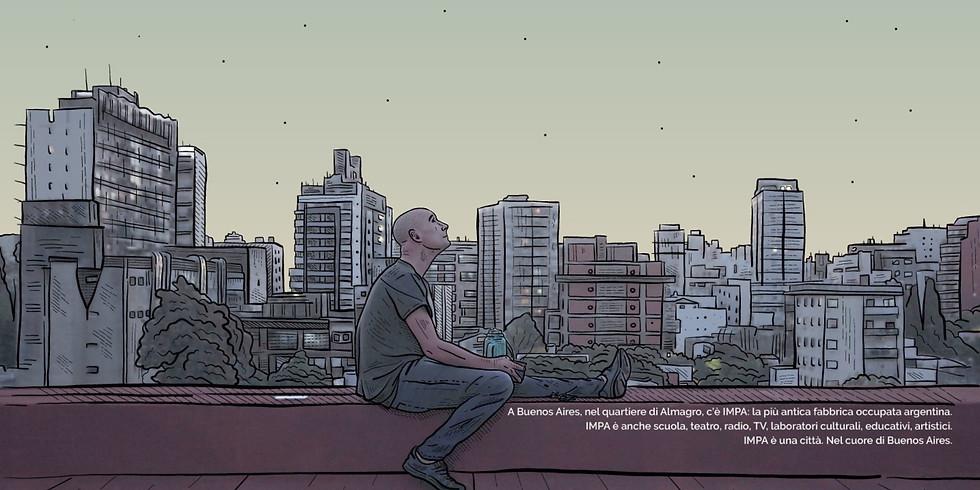 """Proiezione """"Impa, la città"""" di Diego Scarponi"""