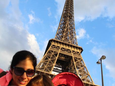 París con niños pequeños
